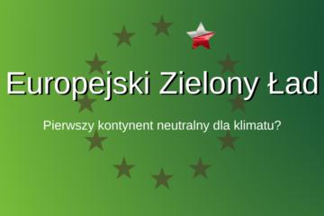 unia europejska i flaga polski na zielonym tle